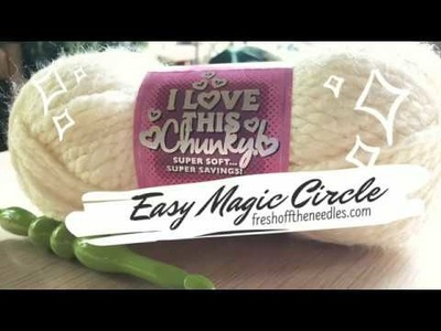 | Easy Crochet Magic Circle Tutorial | Santa Fe Nights Bag FREE PATTERN | Fresh Off The Needles