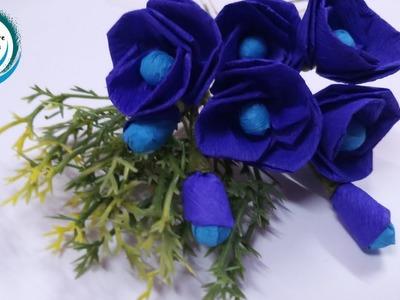 Easy Paper Flowers | Flower Making | DIY ,5-minute Crafts