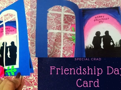 Friendship Day Card.How to make Friendship Day Special Card.Friendship Day Card