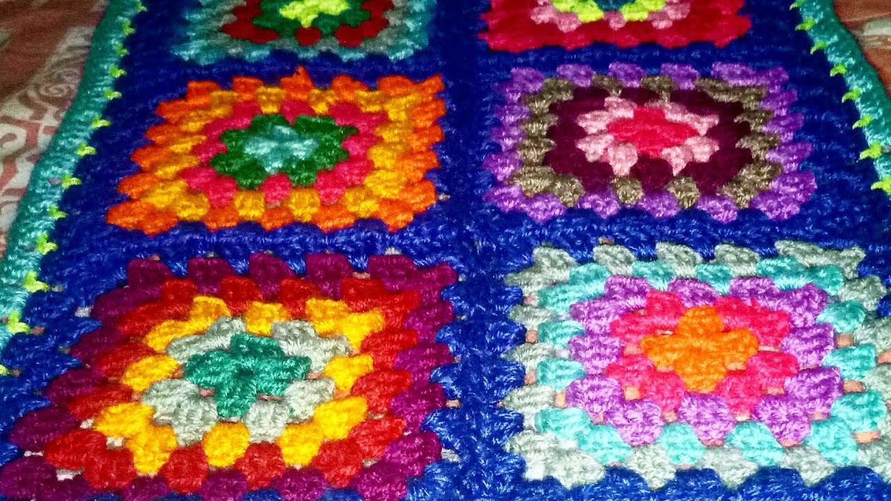 Granny Squares & how to join them