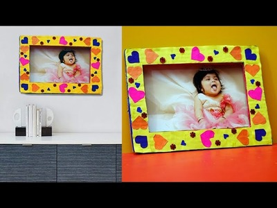 Home Made PHOTO FRAME - DIY HOME DECOR IDEA