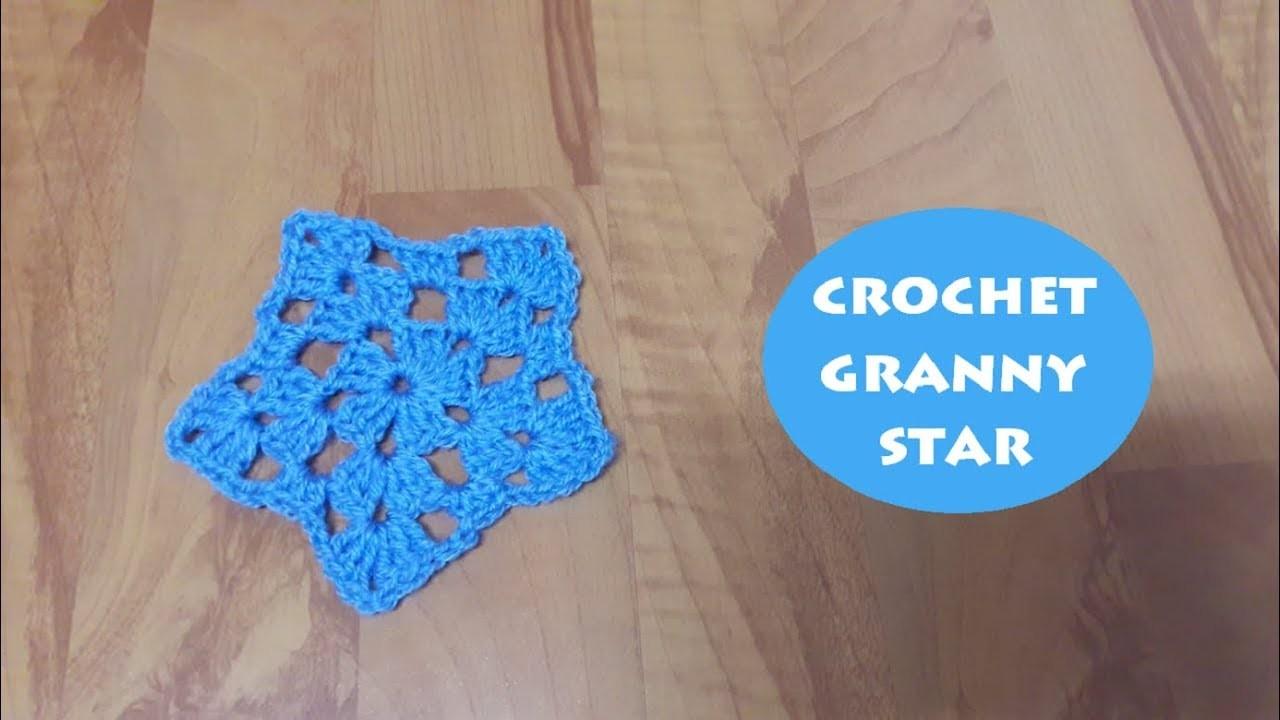 How to crochet a granny star? | !Crochet!