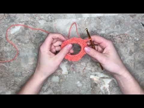 HOW TO: Crochet Scrunchie tutorial!