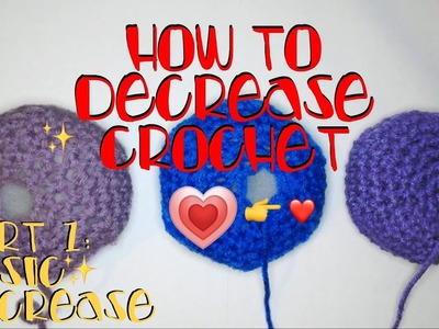How to Decrease - Crochet Lesson 12