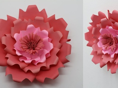 How To Make Beautiful DIY Backdrop Flowers  DIY Backdrop Flowers Tutorial  Wedding Paper Flowers