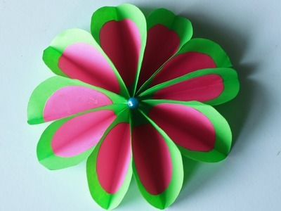 How To Make Beautiful Paper Flower Making For Home Decor