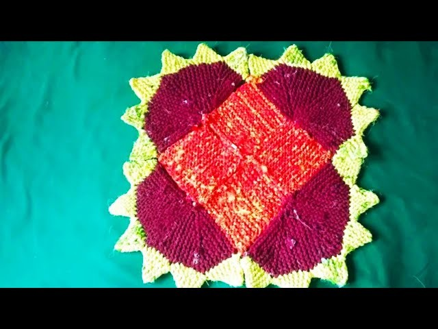 How to make doormat l 3 in 1 Doormat I new design doormat l handmade doormat in hindi l doormat