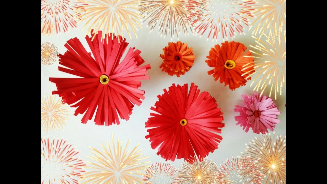 How to make paper flower center. DIY tutorial