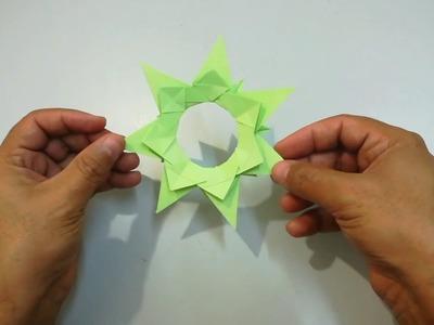 How to make paper flower Tutorial | Diy paper flowers | Origami flower