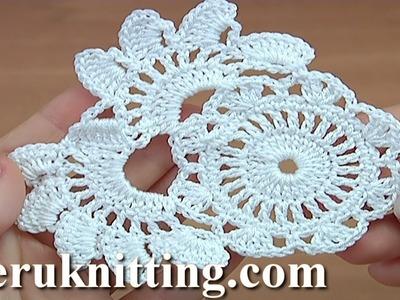 Irish Lace Crochet Element Tutorial 42