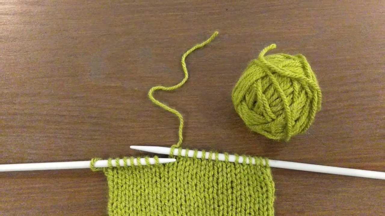 Joining Yarn In Middle Of knitting.                                         #joiningyarn