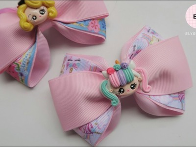 Laço Cruzado ???? Ribbon Bow Tutorial #84 ???? DIY by Elysia Handmade