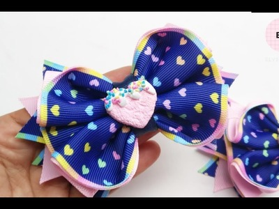 Laço De Fita ???? Ribbon Bow Tutorial #83 ???? DIY by Elysia Handmade