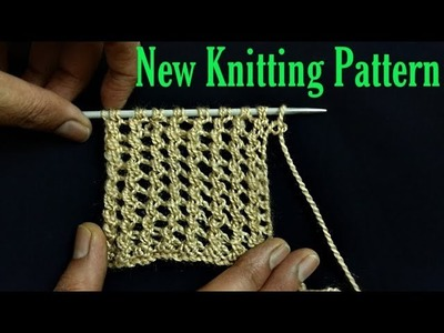 NEW Knitting Design for muffler, girl's jacket and baby sweater