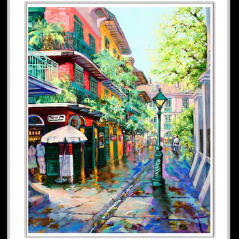 New Orleans French Quarter Cross Stitch Pattern***LOOK***