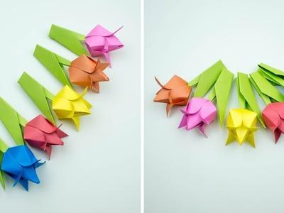 Origami Tulip - DIY