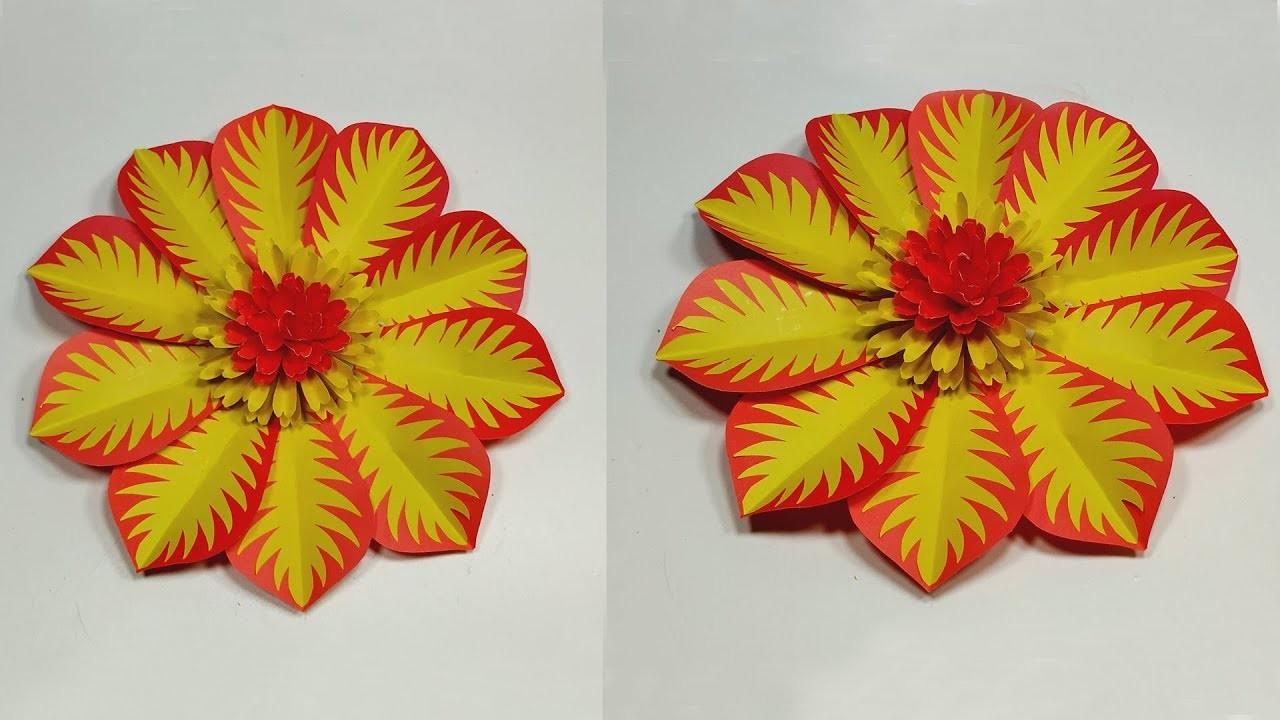 Paper Flower Backdrop Tutorial | DIY Paper Flower | Floral Backdrop | Jarine's Crafty Creation