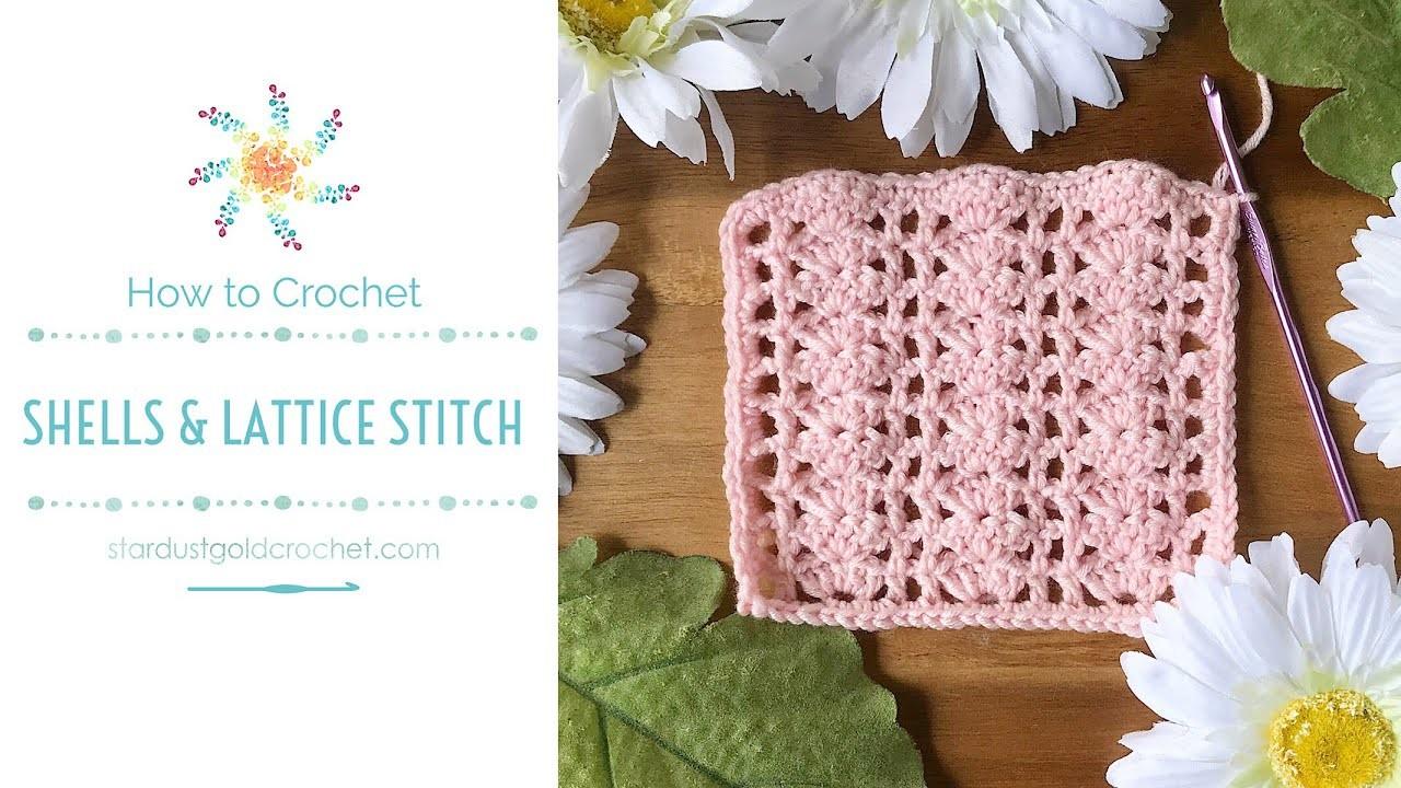 Shells & Lattice Stitch | Saturday Stitch Explorers | Crochet Tutorial for Beginners