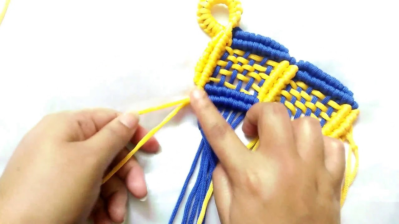 Simple Macrame Towel.How To Make Macrame Towel tutorial in Hindi