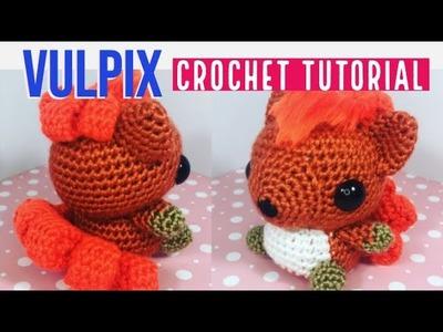 Vulpix Amigurumi Crochet Tutorial