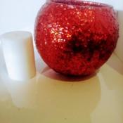 Fishbowl Candle Holder