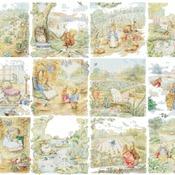 Counted cross Stitch Pattern twelve beatrix potter 438 * 321 stitches CH1544