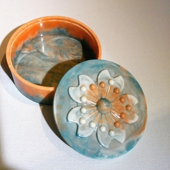 Resin Trinket Box