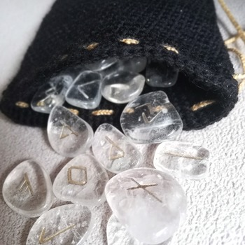 Rune Pouch/Crystal Pouch/Change bag/Tarot pouch