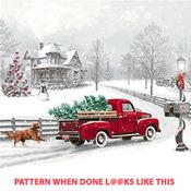 CRAFTS Winter Ride Cross Stitch Pattern***LOOK***