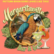 ( CRAFTS ) Margaritaville & Bar Grill Cross Stitch Pattern***LOOK***Buyers Can Download Your Pattern As Soon As They Complete The Purchase