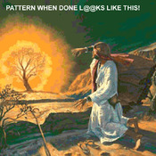 CRAFTS Moses Burning Bush Cross Stitch Pattern***LOOK***Buyers Can Download Your Pattern As Soon As They Complete The Purchase