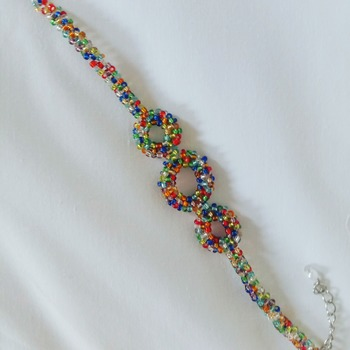 Handmade Colourful Round Shape Bracelet Jewellery