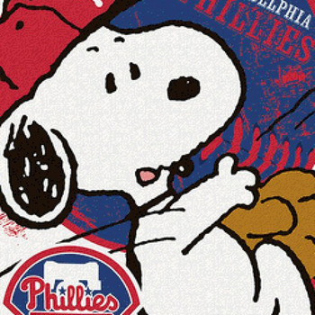 CRAFTS Peanuts Philadelphia Phillies Cross Stitch Pattern***LOOK***