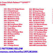 CRAFTS Christmas In The Air Cross Stitch Pattern***LOOK***