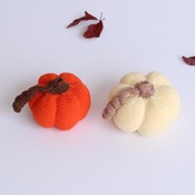 DECORATIVE PUMPKINS pdf pattern - HALLOWEEN/pumpkins/handmade/decorative/amigurumi