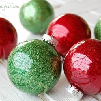 Glitter Christmas Tree Decoration