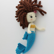 GLITTERMAID Mermaid Amigurumi Doll