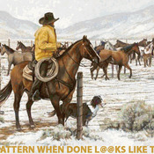 CRAFTS Winter Roundup Cross Stitch Pattern***L@@K***Buyers Can Download Your Pattern As Soon As They Complete The Purchase