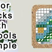 CRAFTS Dogwood Chapel Cross Stitch Pattern***L@@K***