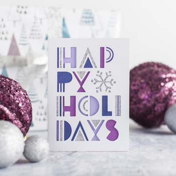 Happy Holidays Christmas Card