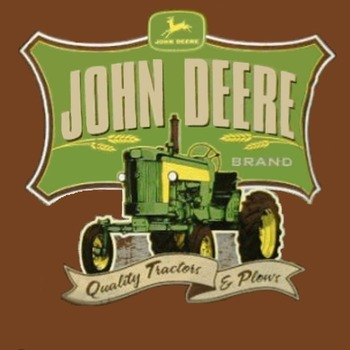 John Deere Tractor Cross Stitch Pattern***LOOK***