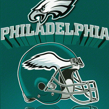 CRAFTS Philadelphia Eagles Cross Stitch Pattern***LOOK***