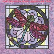 CRAFTS Stain Glass Dragonfly Cross Stitch Pattern***L@@K***