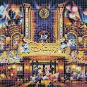 counted cross stitch pattern dream theater disney 441*304 stitches CH888