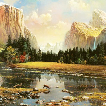 Yosemite Splendor Cross Stitch Pattern***LOOK***X***INSTANT (DOWNLOAD)***