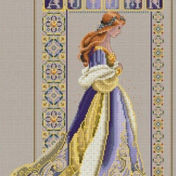 CRAFTS Celtic Autumn Cross Stitch Pattern***L@@K***$4.95