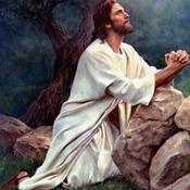 CRAFTS  Jesus In Prayer Cross Stitch PatternCross Stitch Pattern***L@@K***
