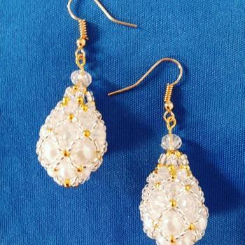 Handmade Heaven Teardrop Earrings Jewellery