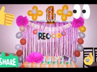 Best birthday decoration idea diy