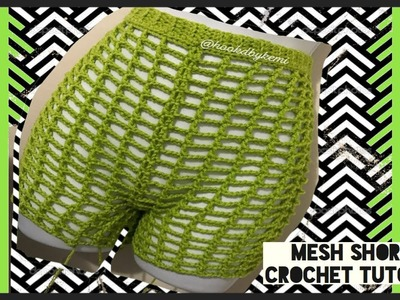 Crochet Mesh Shorts: TUTORIAL